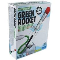 4m Green Rocket Set Cohete Ecológico Cientifico P/armar