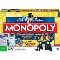 Monopoly The Simpsons Edición