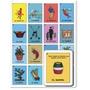 Caja Con 48 Loterias Tradicionales Mexicanas En Bolsa, Idea