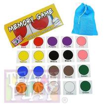 23203 Juego Memoria Colores Inglés 20 Fichas De Teach Play
