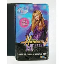 Miley Cyrus Hannah Montana Juego De Trivia Nuevo Y Sellado