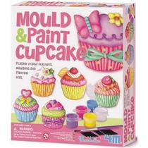 4m Kit Cupcake Pastelillos Moldea Y Pinta Didactico Creativo
