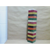 Jenga De Colores Juego De Madera Didáctico Torre