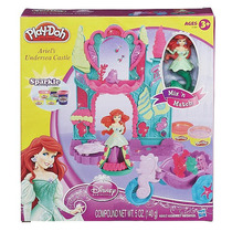 De Play-doh Disney Princess Ariel Submarino Castillo Playset