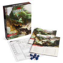 Juego De Mesa Dungeons And Dragons Starter Set 5ed D&d