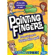 Juego Mesa Pointing Fingers, +12 Años, 3-6 Jugadores