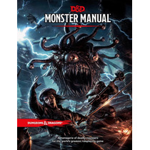 Dungeons And Dragons Monster Manual D&d 5ed