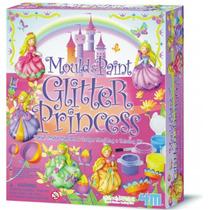 4m Kit Moldea Y Pinta Princesas De Yeso Didactico Creativo