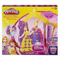 Juega Doh Disney Princess Diseñar Un Boutique Vestido - Bell