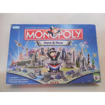 Juego Monopoly Edicion Edificios Estados Unidos Ingles C608