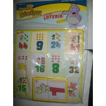 Gcg Juego Didactico Loteria Los Numeros Con Figuras