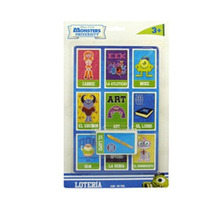 Juego De Mesa Loteria Pelicula Monsters University Original