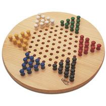 Cayro Juego Damas Chinas Tablero Madera / No Ajedrez Rubik