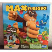 Divertido Juego De Max El Furioso De Hasbro En Español Único