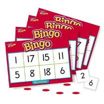 Bingo Lotería Números 1 Al 20 Español 300 Piezas 4-8 + Trend