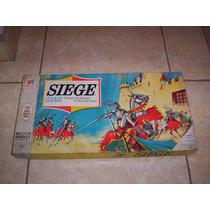 Siege Game Juego De Estrategia Militar Milton Bradley 1966 +