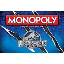 Monopolio: Jurassic World Edition Juego De Mesa