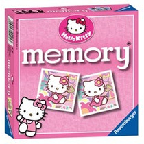 - Juego De Memoria Ravensburger Tarjeta Hello Kitty Dibujos