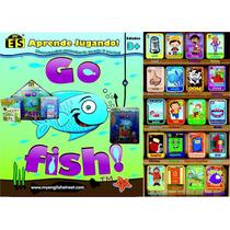 Juego Go Fish De Cartas O De Mesa Para Aprender Inglés