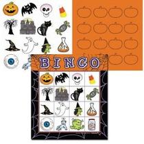 De Halloween Juego Bingo De 16 Jugadores