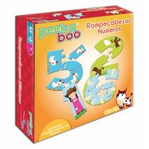 Caja Con 12 Juegos Didactivos Los Numeros Marca Peek A Boo