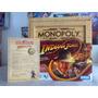 Monopoly Indiana Jones Con Certificado De Autenticidad