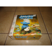 Juego Smurf Spin A Round Pitufos Milton Bradley 1983 +++