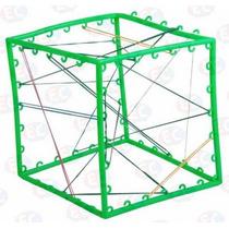 Edu-046 Geoespacio Material Didáctico Plástico 1 Pza Eduplas