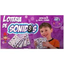 Edu092 Loteria De Sonidos C/ Cd Educativo Ing / Esp Eduplas