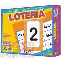 25207 Lotería Multiplicar Y Dividir 56 Piezas De Teach Play