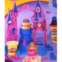 Hasbro Play Doh Disney Princesas Castillo Con Aurora Entrega
