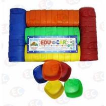 Edu-048 Godete Material Didáctico Plástico 50 Piezas Eduplas