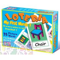 25054 Lotería Básica Inglés Preescolar 25 Palabras Teachplay
