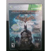 Batman Arkham Asylum Game Year Xbox 360 Nuevo Citygame