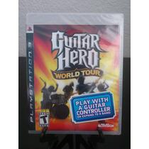 Guitar Hero World Tour Ps3 Nuevo De Fabrica Citygame