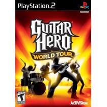 Guitar Hero World Tour Ps2 Nuevo Original Blakhelmet