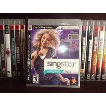 Juego Ps3 Sing Star Vol. 2 Nuevo Completo Mdn