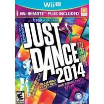 Just Dance 2014 Con Wii Remote Plus Wii U Nuevo Sobre Pedido