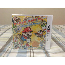 Paper Mario Sticker Star 3ds Nuevo Sellado