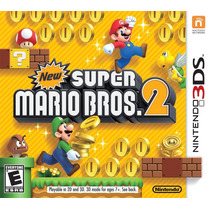 New Super Mario Bros 2 Para Nintendo 3ds Y Xl Nuevo Sellado