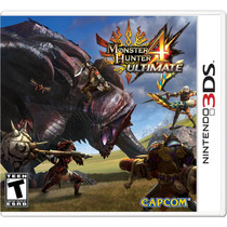!! Monster Hunter 4 Ultimate Para 3ds Y 2ds En Wholegames !!
