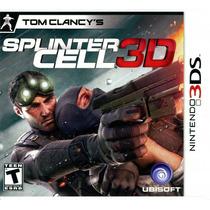 Tom Clancys Splinter Cell 3d 3ds Nuevo Sellado Mdn