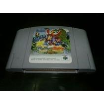Banjo Kazzoie Japones Para Nintendo 64,excelente Titulo