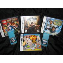 Videojuegos Nintendo Ds Harry Potter, Star Wars Phineas Ferb