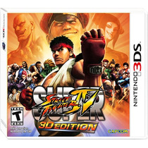 ..:: Super Street Fighter Iv 3d ::.. Para Nintendo 3ds