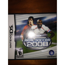 Nintendo Ds Real Soccer 2008