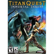 Juego Para Pc, Titan Quest Immortal Throne Expansion Pack -