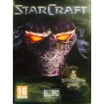 Starcraft Pc Cd-rom Castellano, Con Expansion Blood War