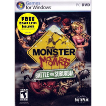 Monster Madness: Battle For Suburbia - Pc