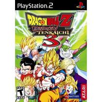 Dragon Ball Z: Budokai Tenkaichi 3 Ps2 Mannygames